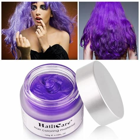 New Amazon Com Professional Temporary Hair Color Highlights Streaks Touch Up Purple 7 Beauty Ideas With Pictures