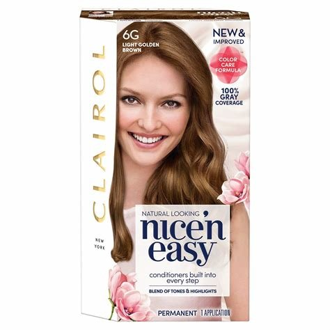 New Amazon Com Clairol Nice N Easy Permanent Hair Color Kit Ideas With Pictures