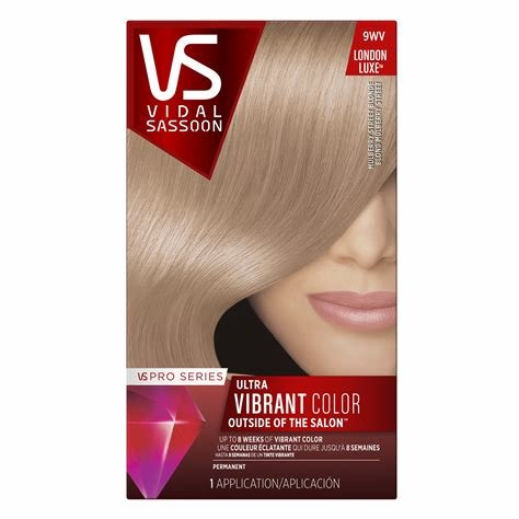 New Amazon Com Vidal Sassoon Salonist Hair Colour Permanent Ideas With Pictures