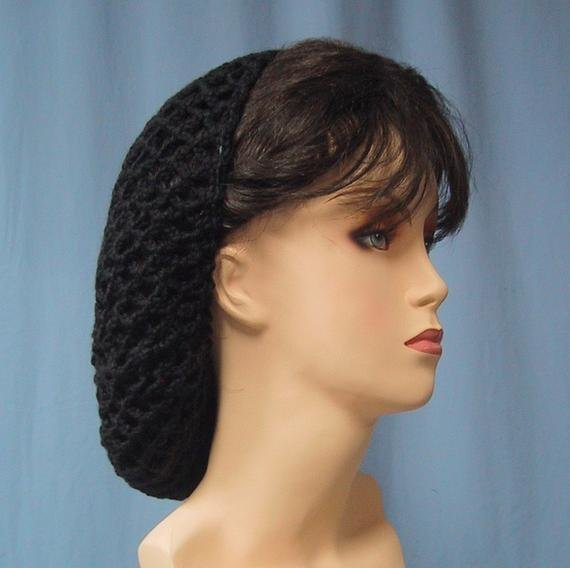 New Crocheted Snood Color Choice Handmade 1940S Retro Look Ideas With Pictures