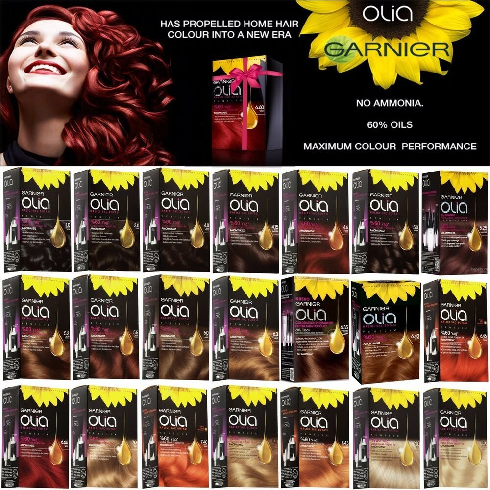 New Garnier Olia Oil Powered Permanent Color Hair Dye 21 Ideas With Pictures
