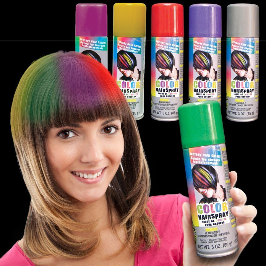 New Colored Hair Spray Non Light Up Novelties Toys Ideas With Pictures