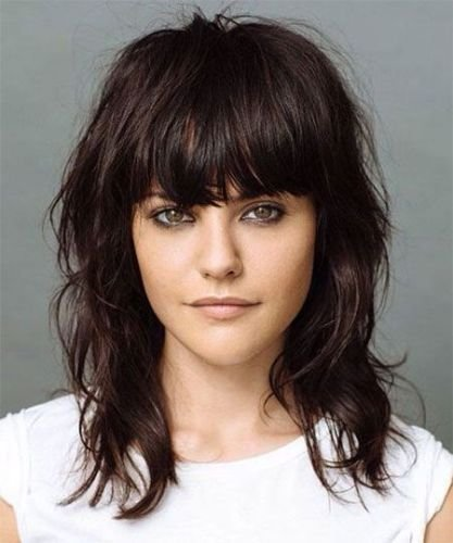 New 9 Easy Medium Length Hairstyles For Thick Hair To Try This Ideas With Pictures