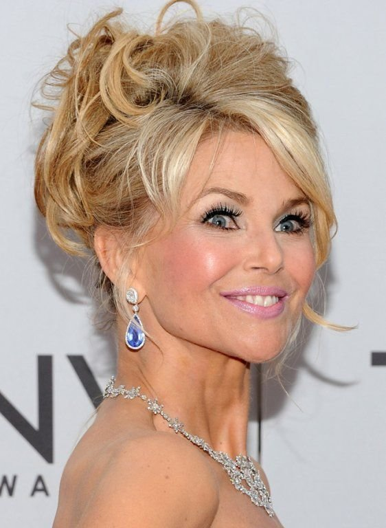 New Christie Brinkley Updo Hair Pinterest Her Hair Updo Ideas With Pictures
