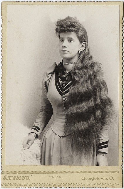 New Hairstyle Of The Late 1800 S Vintage Photography Ideas With Pictures