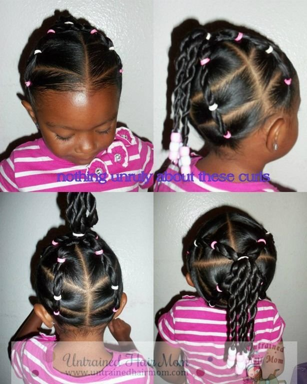 New Little Black Girl Hairstyles Easy Creative Natural Ideas With Pictures