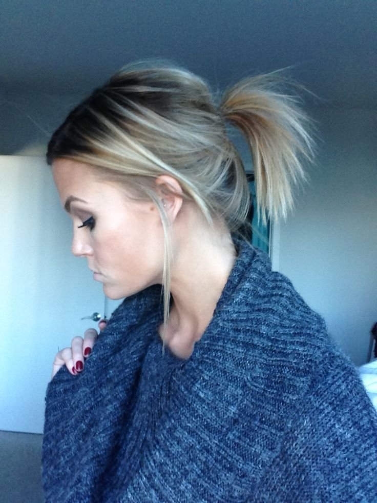New Best 25 Short Ponytail Hairstyles Ideas On Pinterest Ideas With Pictures