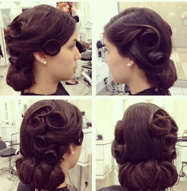 New Updo And Vintage On Pinterest Ideas With Pictures
