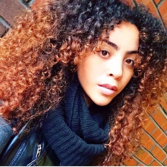 New Colored Curly Hair Curls Curls And More Curls Pinterest Colors Fresh And For Women Ideas With Pictures