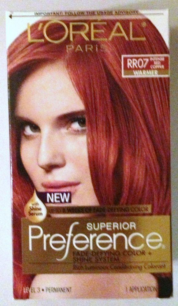 New Loreal Paris Superior Preference Hair Dye Color Rr07 Ideas With Pictures