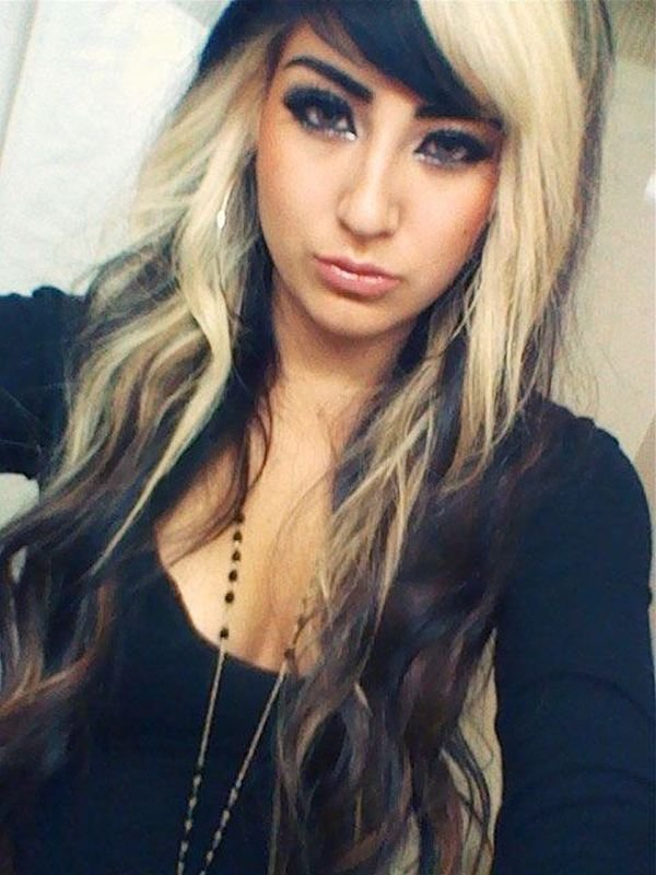 New 1000 Ideas About Two Toned Hair On Pinterest Peruvian Ideas With Pictures