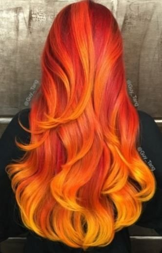New 25 Best Ideas About Fire Hair On Pinterest Fire Ombre Ideas With Pictures