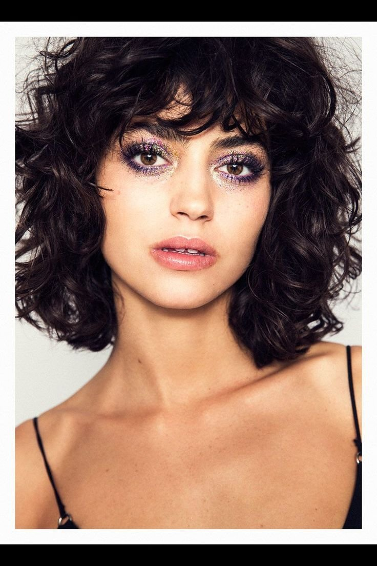 New 25 Best Ideas About Dark Curly Hair On Pinterest Short Ideas With Pictures