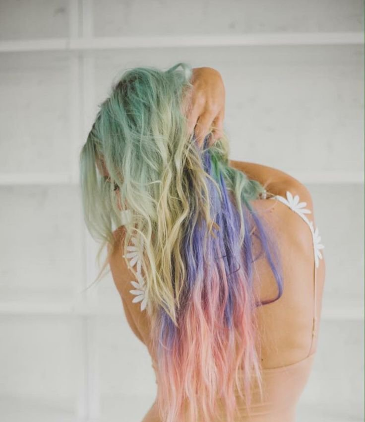 New Mermaid Hair Alexisjadekaiser Custom Colored Clip Ins Ideas With Pictures