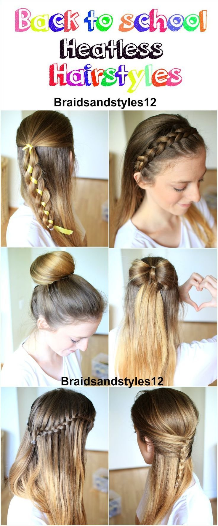 New 1000 Ideas About School Hairstyles On Pinterest Back To Ideas With Pictures
