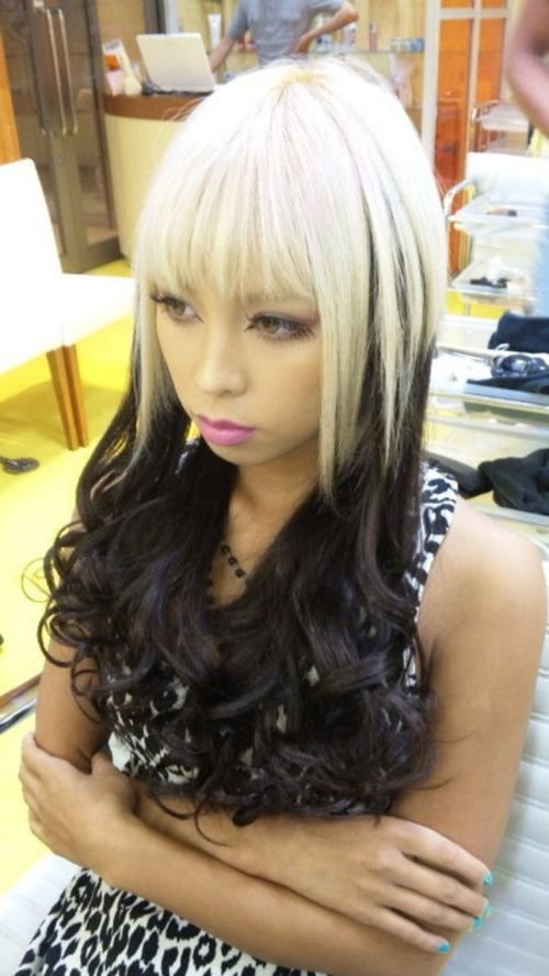 New 1000 Ideas About Two Toned Hairstyles On Pinterest Ideas With Pictures