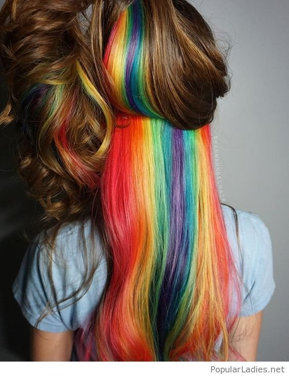 New Best 25 Underneath Hair Colors Ideas On Pinterest Ideas With Pictures