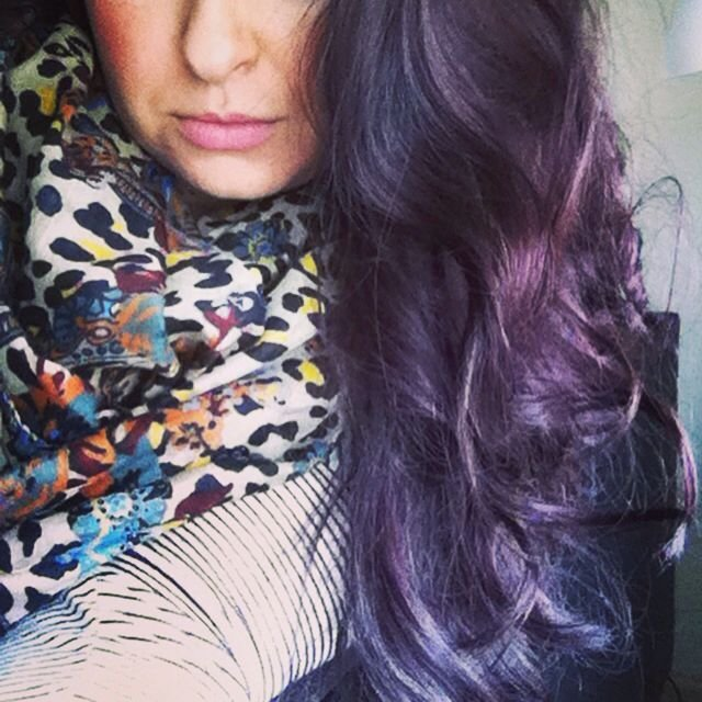New One N Only Argan Oil Hair Color 3Rv Dark Red Violet Brown Ideas With Pictures