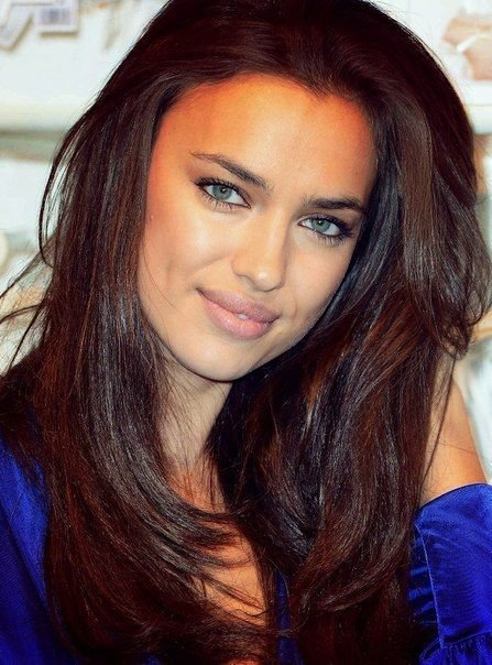 New Irina Shayk Chocolate Brown Hair Color Hair Ideas With Pictures