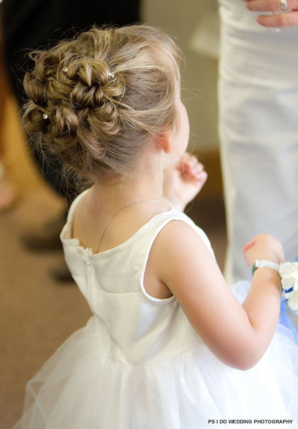 New Curly Updo For Flower Girl Crazy For Kids Pinterest Ideas With Pictures