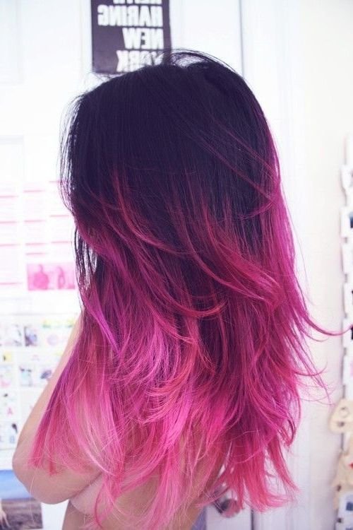 New Ombre Hair Tumblr Brown To Purple Google Search Dream Ideas With Pictures