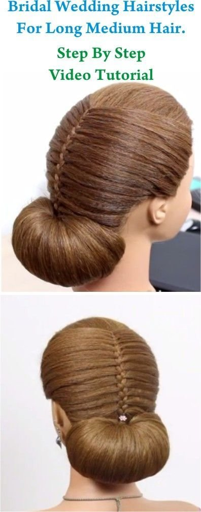 New Wedding Hairstyles Hairstyles And Hair Steps On Pinterest Ideas With Pictures