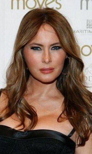 New Melania Trump Wedding Hair Pinterest Hairstyles Ideas With Pictures