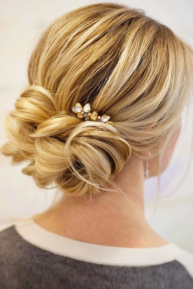 New Best 25 Wedding Low Buns Ideas That You Will Like On Ideas With Pictures