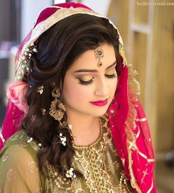 New 17 Best Ideas About Indian Wedding Hairstyles On Pinterest Ideas With Pictures