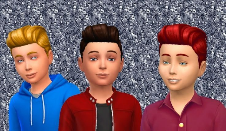 New The Sims 4 My Stuff Pompadour Retro For Boys Hairstyle Ideas With Pictures
