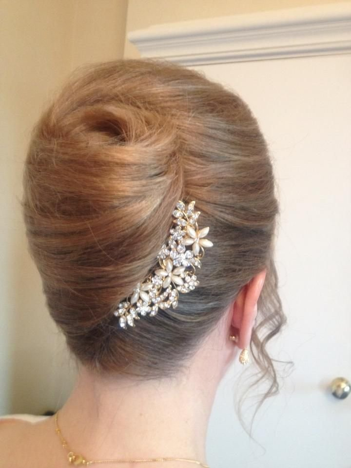 New French Pleat Ruth S Hair Pinterest Prom Hair Ideas With Pictures