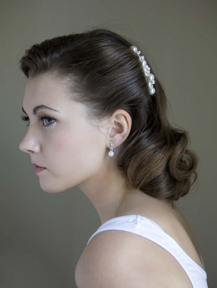 New 33 Best Images About Hairstyles For Wedding On Pinterest Ideas With Pictures