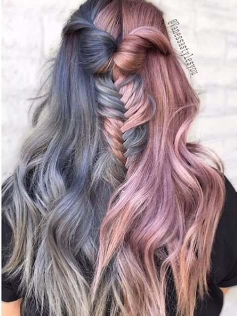 New Best 25 Two Color Hair Ideas On Pinterest Two Toned Ideas With Pictures