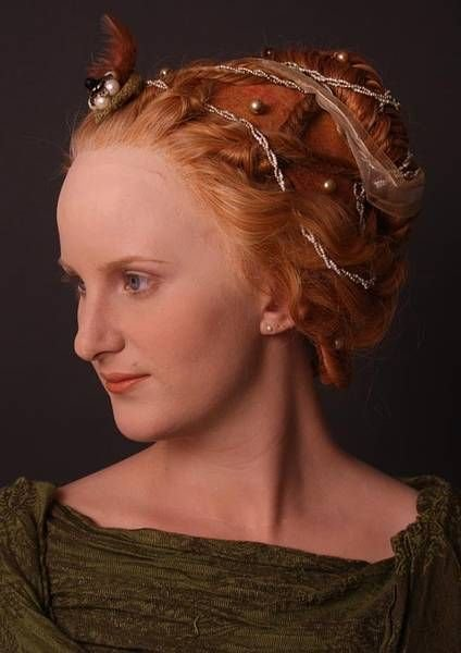 New Reconstruction Of Women's Hairstyles From The 14Th And Ideas With Pictures