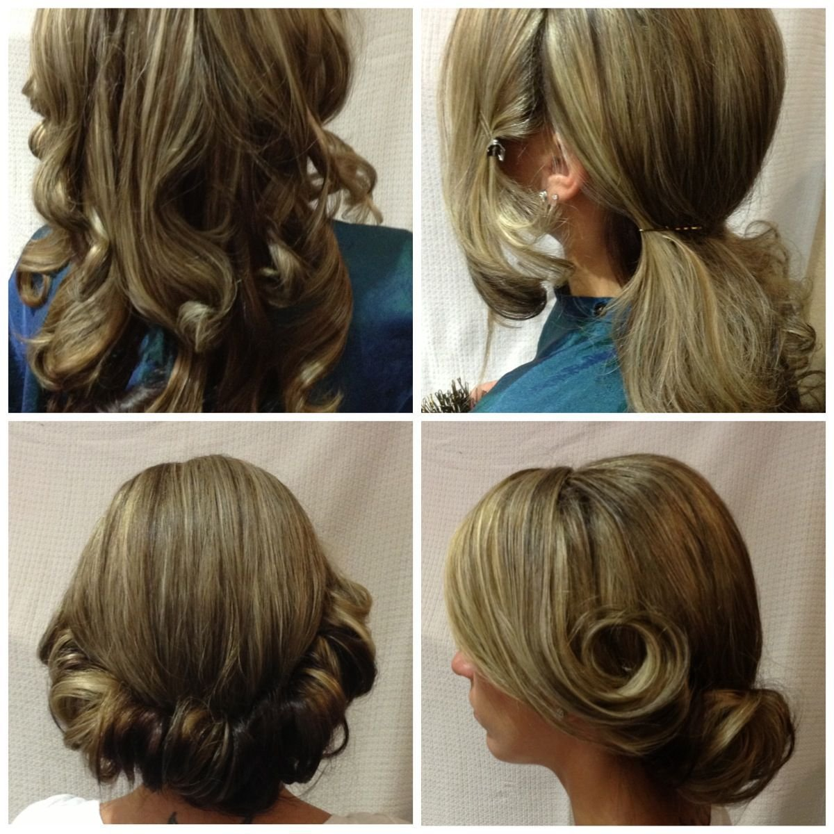 New Step By Step By Christine Frank Do It Yourself Updos Ideas With Pictures