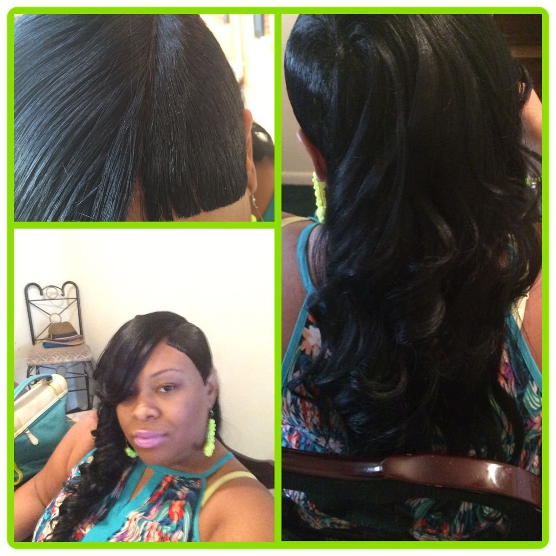 New 27 Piece Quick Weave Shaved Side With Invisible Part And Ideas With Pictures