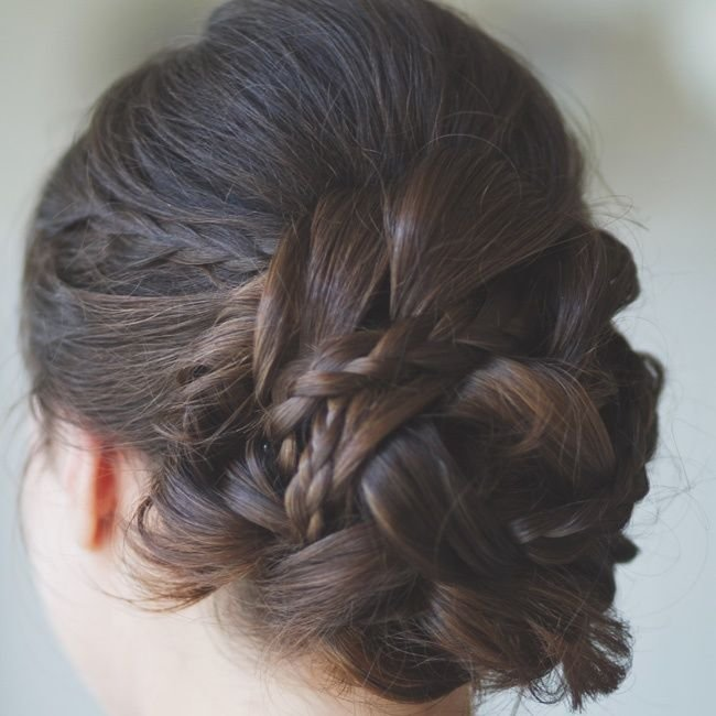 New Best 25 Braided Updo Ideas On Pinterest Formal Ideas With Pictures