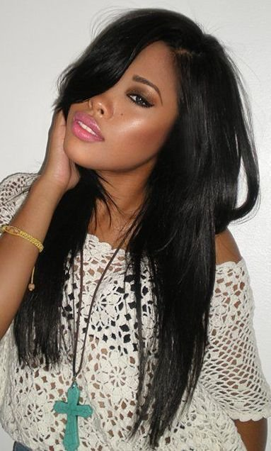 New Straight Weave Hairstyles On Pinterest Black Weave Ideas With Pictures