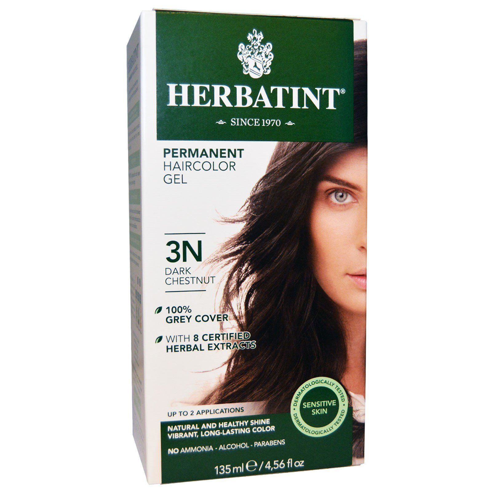 New Herbatint Permanent Hair Color 3N Dark Chestnut 4 56 Ideas With Pictures