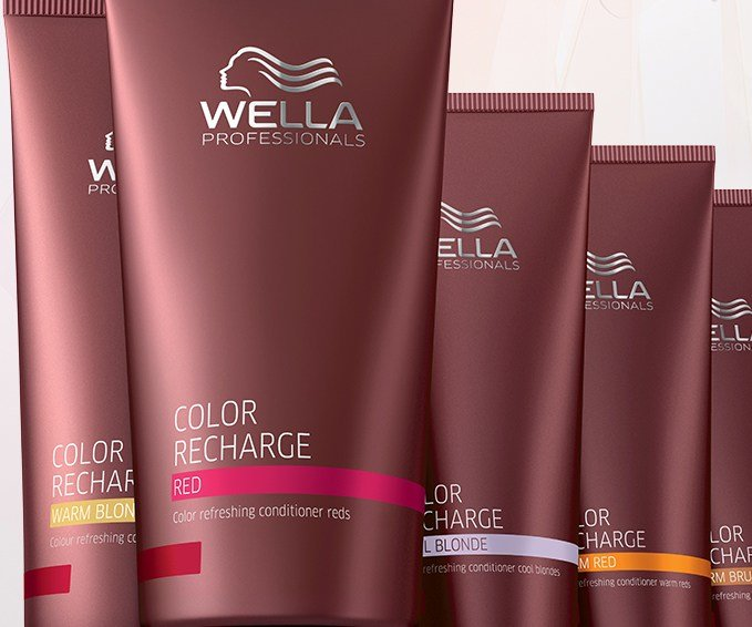 New Color Recharge Coloured Hair Care Wella Professionals Ideas With Pictures
