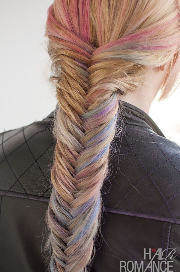 New Hairstyle Tutorial How To Do A Fishtail Braid Hair Romance Ideas With Pictures
