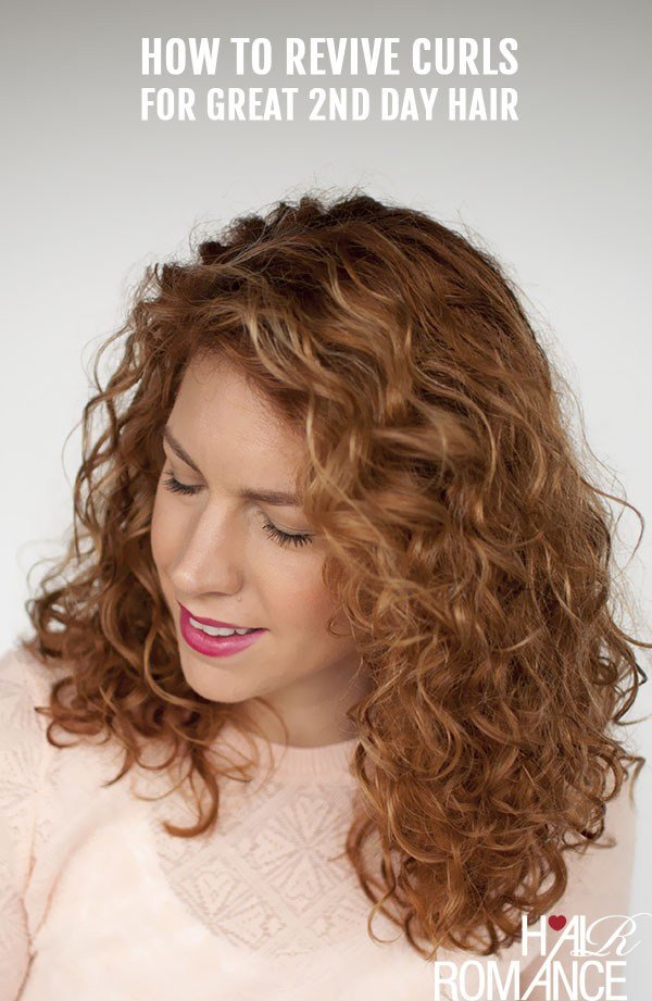 New Reader Question How Do I Revive My 2Nd Day Curls Back To Ideas With Pictures
