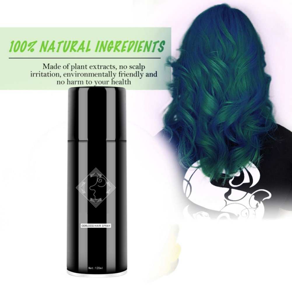 New Cosplay Men Women Temporary Hair Color Spray Instant Diy Ideas With Pictures