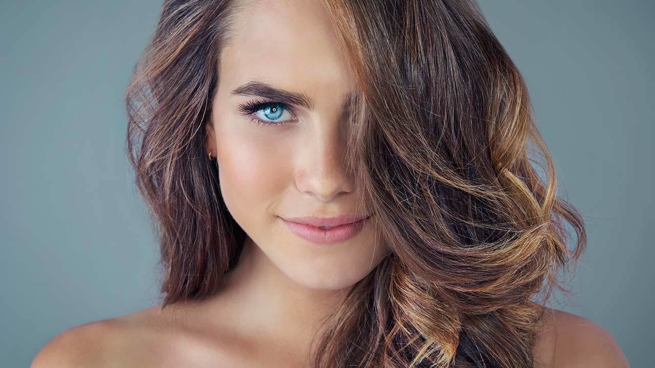 New How To Get Dark Brown Hair With Blonde Highlights L Ideas With Pictures