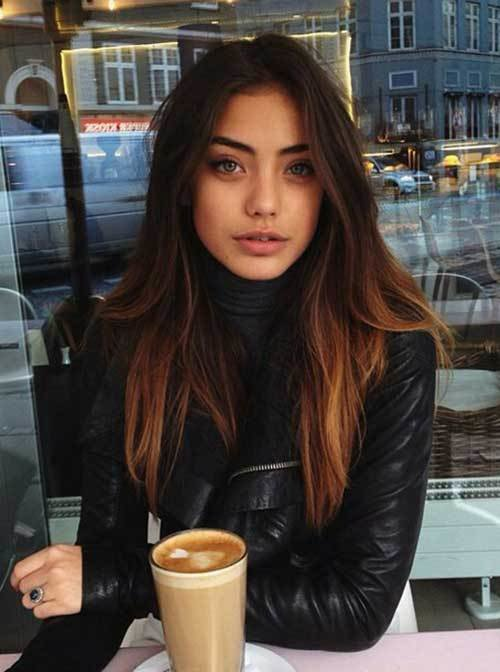 New 25 Hair Colour Ideas For Dark Hair Hairstyles And Ideas With Pictures
