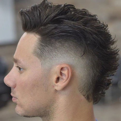 New 25 Faux Hawk Fohawk Haircuts 2019 Men S Haircuts Ideas With Pictures