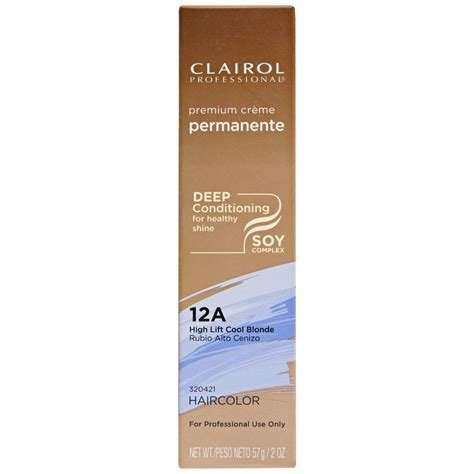 New Clairol Professional 12A High Lift Cool Blonde Premium Ideas With Pictures