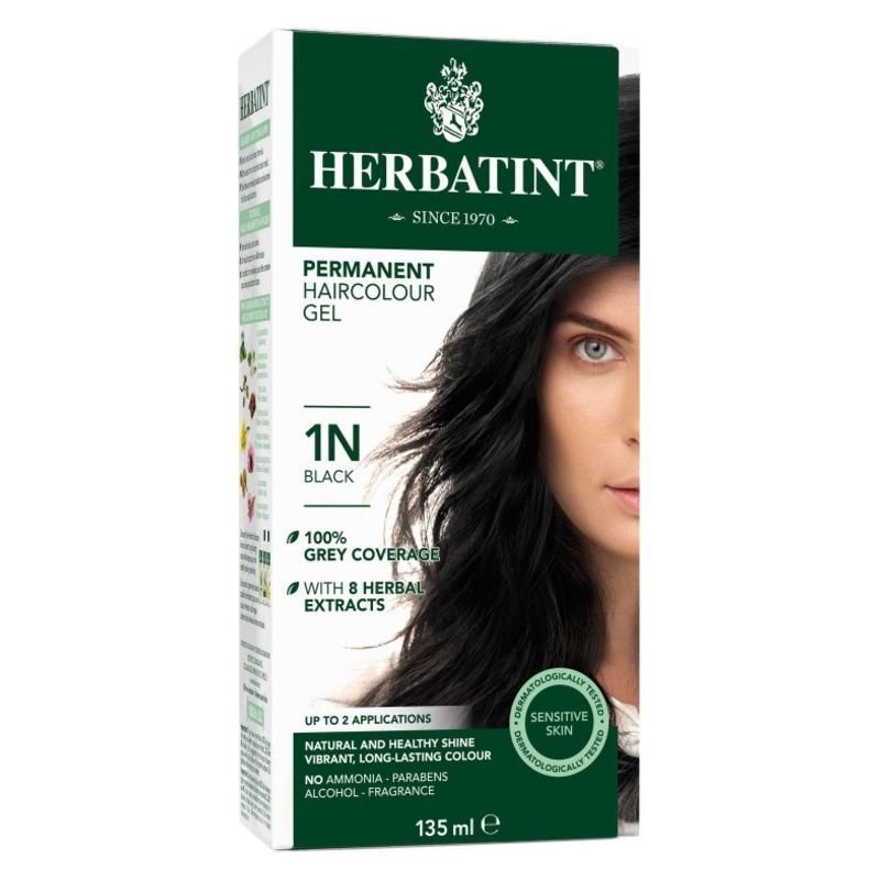 New Herbatint® Permanent Hair Color 1N Black – Shopalive Ca Ideas With Pictures