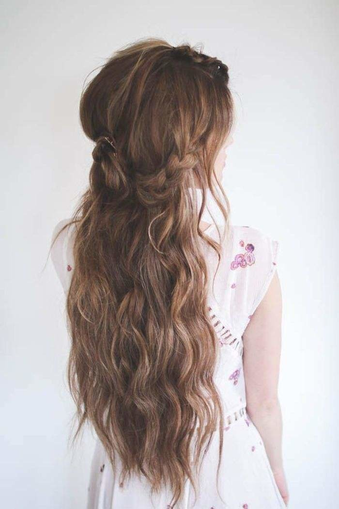 New Half Up Half Down Wedding Hairstyles Modwedding Ideas With Pictures