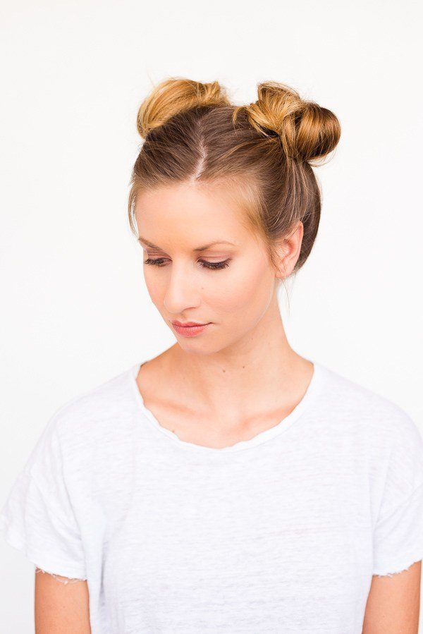 New Two Buns Are Better Than One Double Bun Hair Tutorial Ideas With Pictures